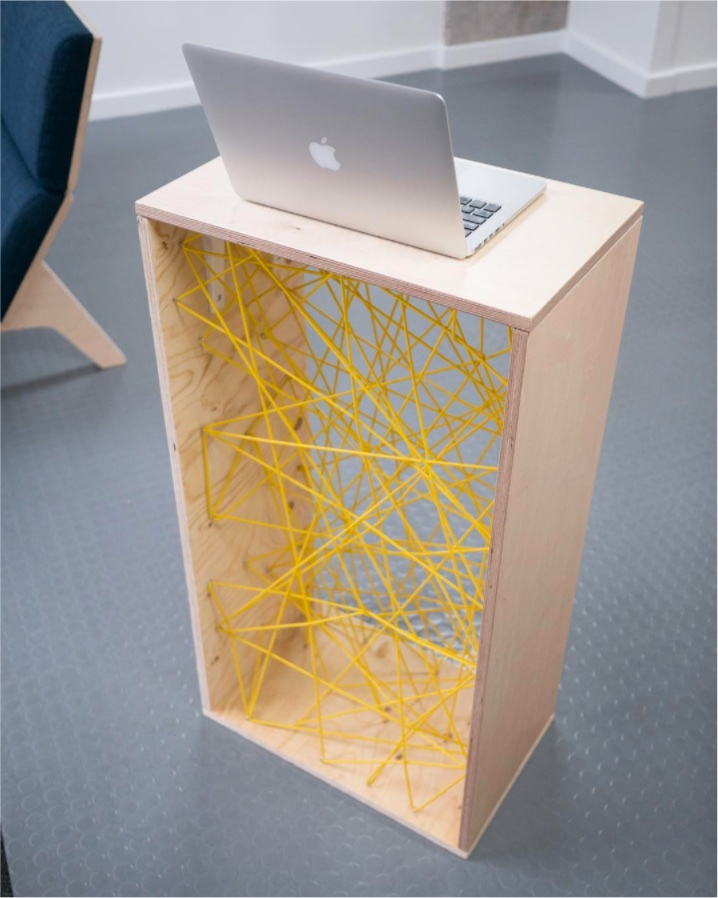 Plywood lectern